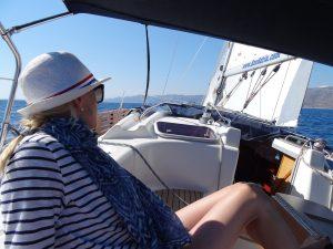 Mirijam Bräuer Segelboot